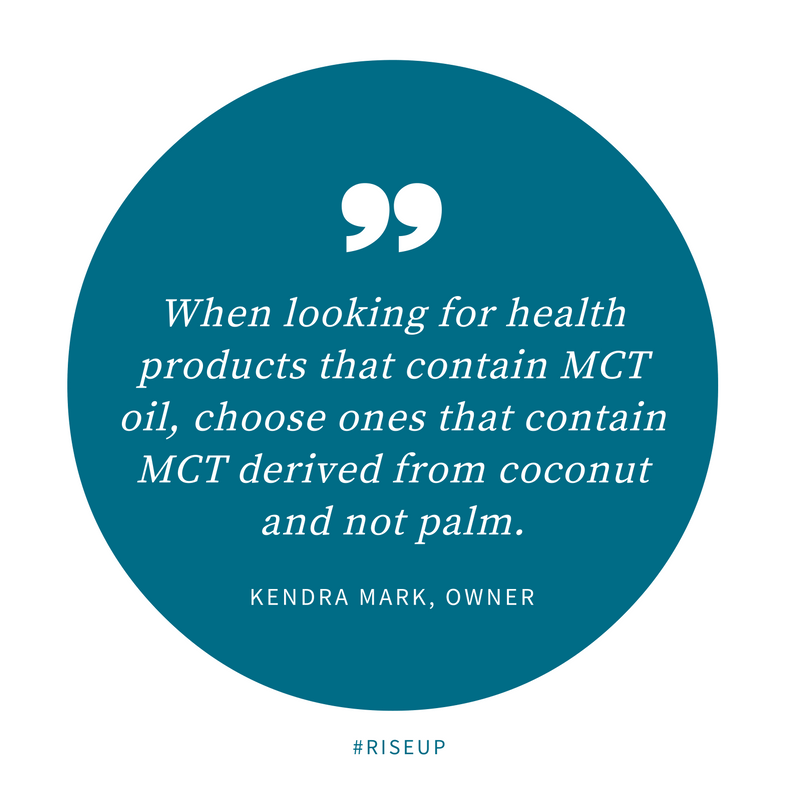 Organic Coconut Oil vs. Palm/Kernel Oil (MCT OIL)