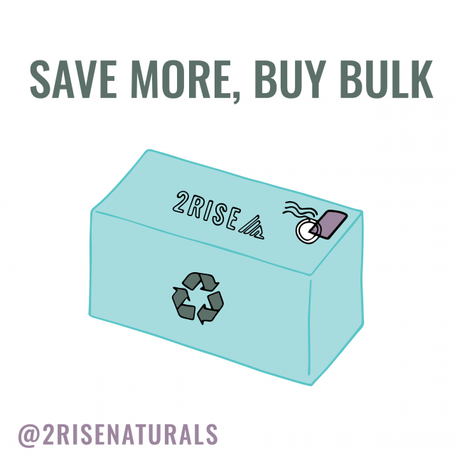 Save Green, Buy Bulk