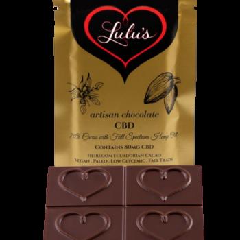 Full Spectrum CBD Chocolate –  80mg