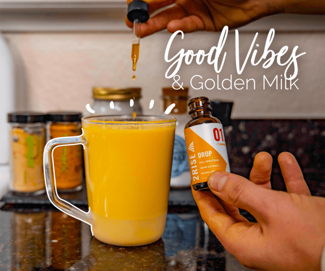 CBD Recipe : Good Vibes & Golden Milk